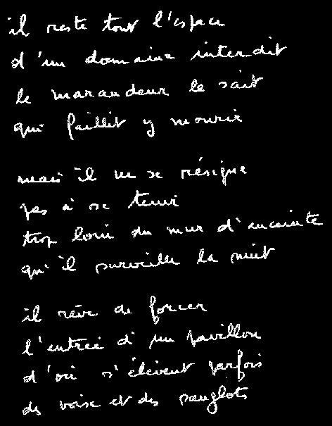 castor astral manuscrit